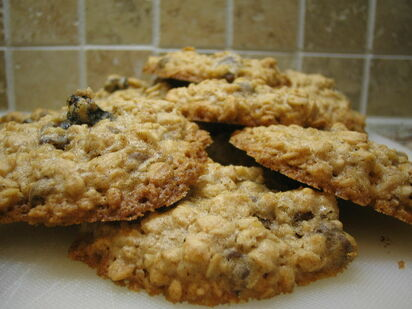 Image by Paul Martin - originally posted to Flickr as Oatmeal Cookies https://www.flickr.com/photos/71165588@N00/2393657950   https://creativecommons.org/licenses/by/2.0/